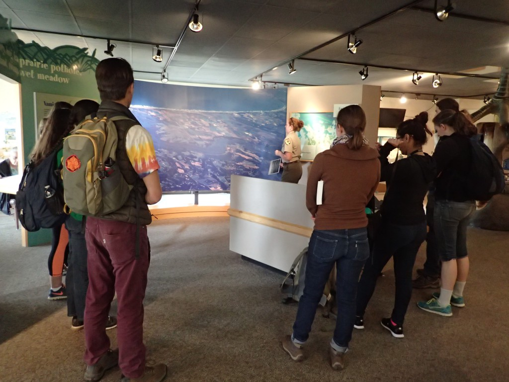 Orientation to the Elkhorn Slough National Estuarine Research Reserve. 18 March 2016 © Allison J. Gong