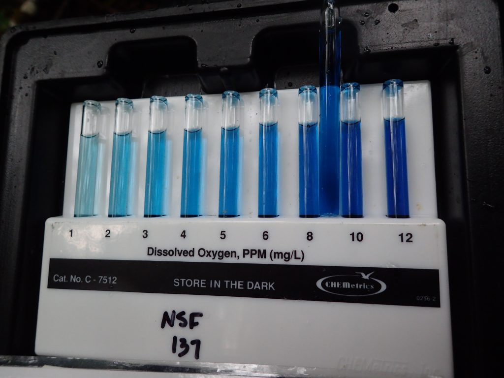Standards for measuring dissolved oxygen. 7 May 2016 © Allison J. Gong